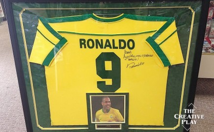 Custom Soccer Framing